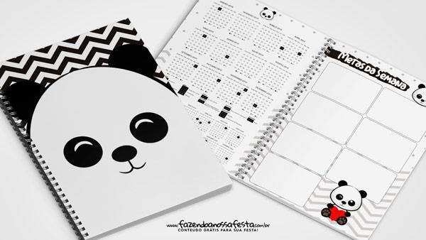 Planner Panda fofo 2019