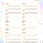 Planner Unicornio 2019 contatos