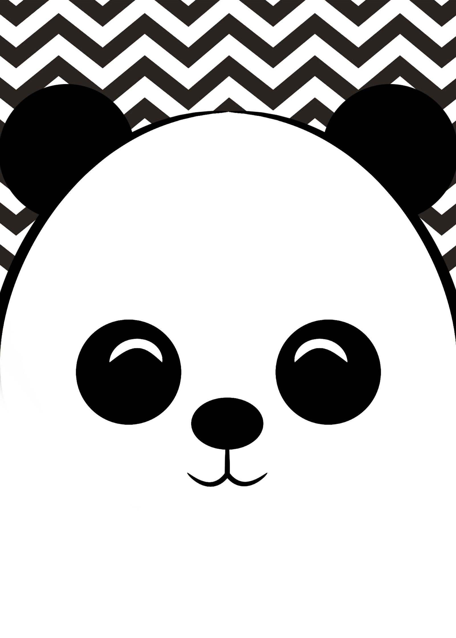 Planner 2019 Panda fofo Capa