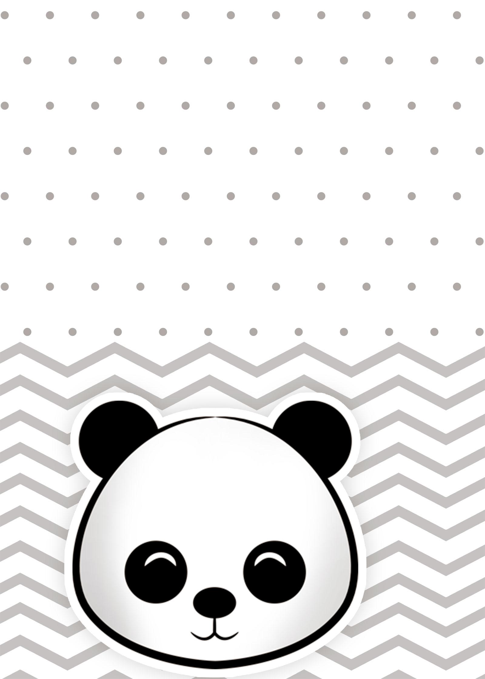 Planner Panda fofo 2019 contracapa
