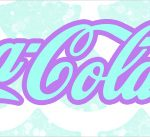 Rotulo Coca cola Fundo Sereia