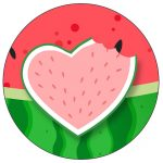 Rotulo Personalizado para latinha e toppers Melancia Kit Festa