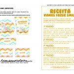 Slime Kit Gratis Unicornio adesivos