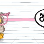 Arte para Caneca Dia dos Professores Professora Coruja