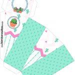 Caixa Fatia Cactos Rosa