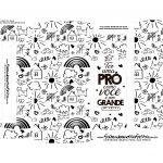 Caixa prestigio dia do professor desenho crianca preto e branco professora
