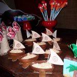 Doces Festa infantil Moana da Emanuelly