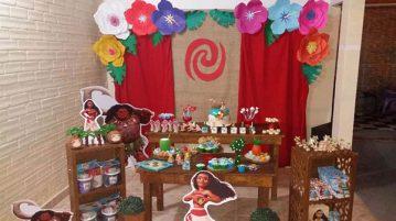 Festa Moana da Emanuelly