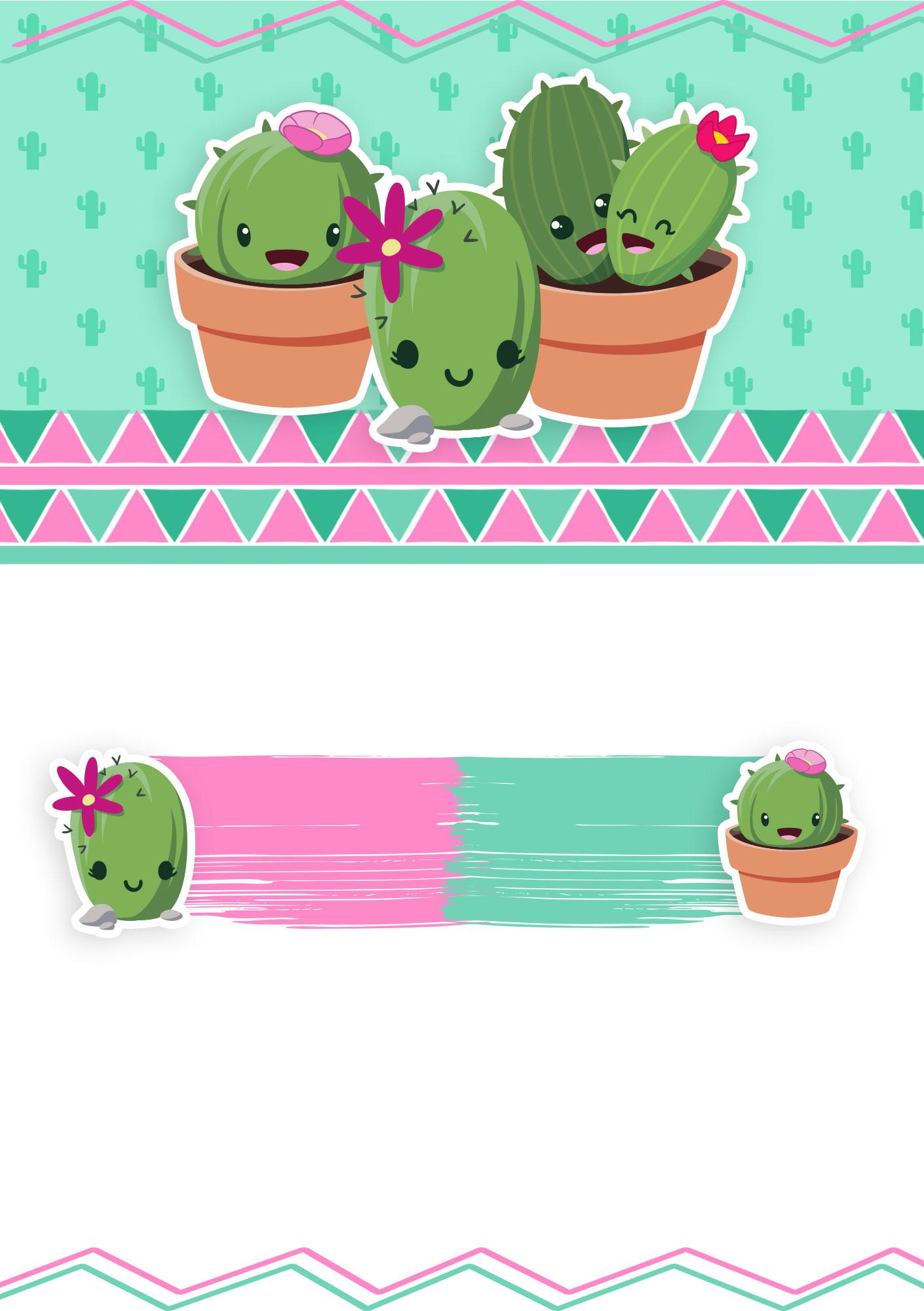 Invitation cactus