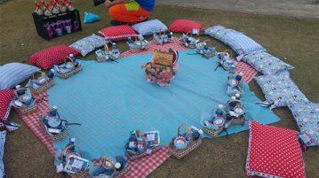festa piquenique no pais das maravilhas da duda ideia