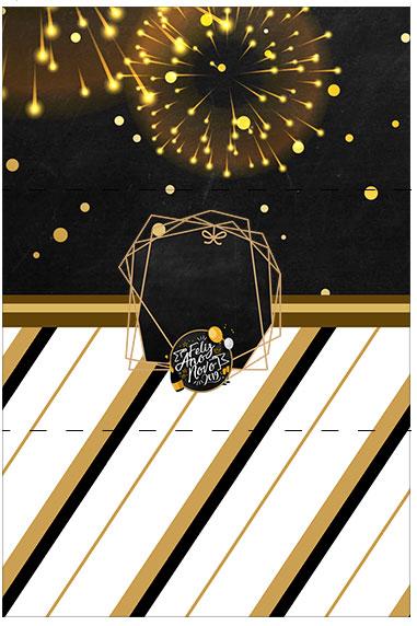 Bala Personalizada Ano Novo 2019