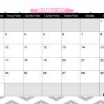Calendario Mensal Panda Rosa Setembro 2019