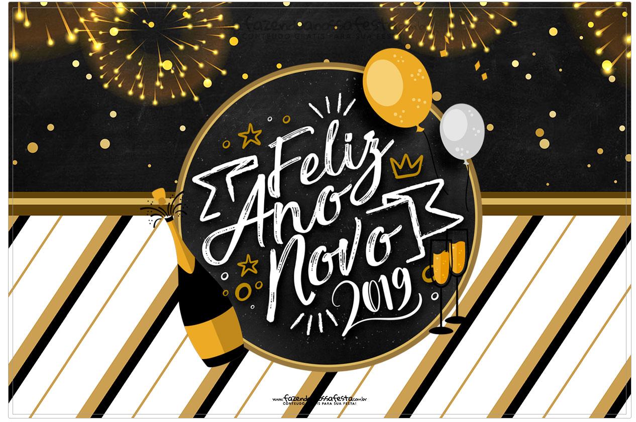 Cartao Ano Novo 2019