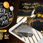 Convite Ano Novo 2019