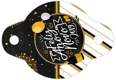 Enfeite Canudinho Kit Festa Ano Novo 2019