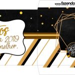 Envelope do Cartao Agradecimento Kit Festa Ano Novo 2019