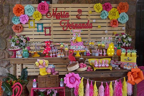 Festa Flamingo da Maria Fernanda 4