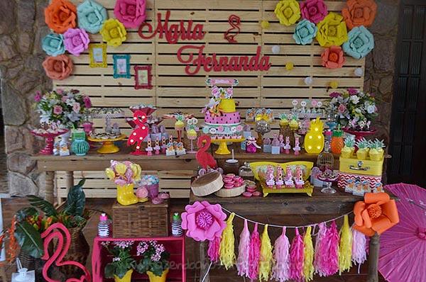 Festa Flamingo da Maria Fernanda 7
