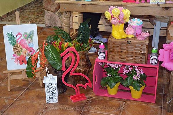 Festa Flamingo da Maria Fernanda 8