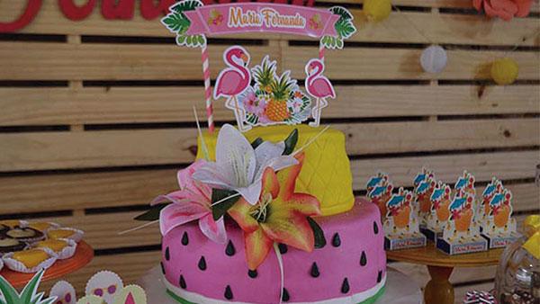 Festa Flamingo da Maria Fernanda Ideias