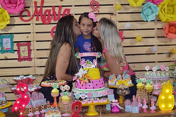 Festa Infantil Flamingo da Maria Fernanda 2