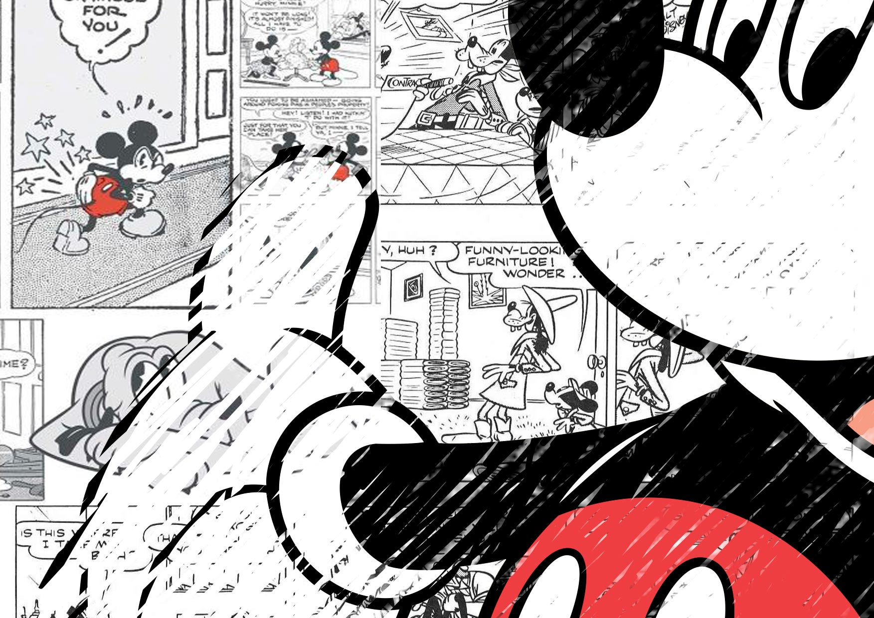 Painel Mickey 6