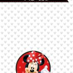 Planner Minnie Mouse 2019 capa abril