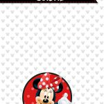 Planner Minnie Mouse 2019 capa julho