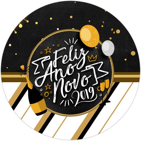 Rotulo Tubete 2 Ano Novo 2019