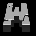 W Alfabeto Minecraft