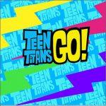 Adesivo Caixa Acrilico Teen Titans Go