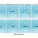 Bala personalizada para Natal Pinguim