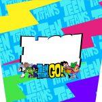 Balde de Pipoca Teen Titans Go