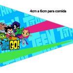 Bandeirinha Sanduiche 1 Jovens Titans