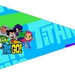 Bandeirinha Sanduiche 3 Jovens Titans