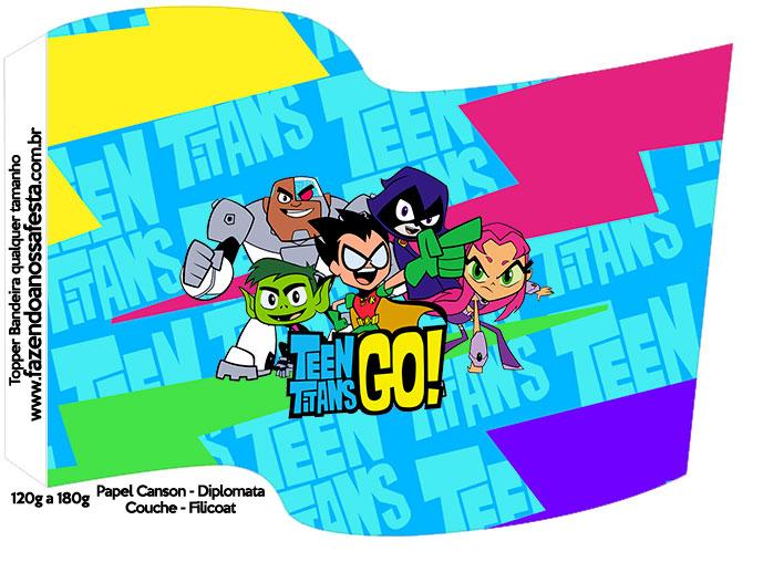 Bandeirinha Varalzinho Jovens Titans
