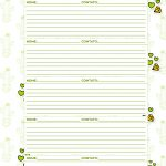 Caderno de Planejamento para Professores Informacoes de Alunos Cactos