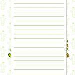 Caderno de Planejamento para Professores Modelo em Branco Cactos