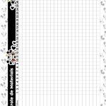 Caderno de Planejamento para professores Controle de Material Mickey e Minnie