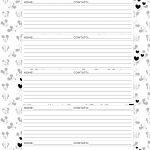 Caderno de Planejamento para professores Informacoes de Alunos Mickey e Minnie