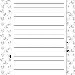 Caderno de Planejamento para professores Modelo em Branco Mickey e Minnie
