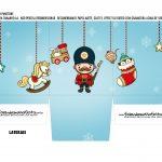 Caixa Mini Panetone Natal Brinquedos 2