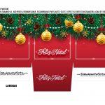 Caixa Mini Panetone Natal Vermelho 2