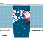 Caixa Mini Panetone Papai Noel 2