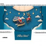 Caixa Mini Panetone Papai Noel Treno 2