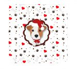 Caixa bombom Jack Russell Terrier