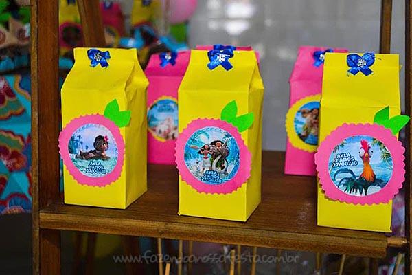 Caixa de leite Festa Infantil da Ayla