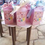 Caixa milk Festa Chuva de Amor da Livia