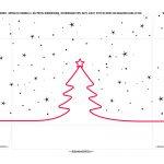 Caixa para Sabonete Silhouette Natal tampa