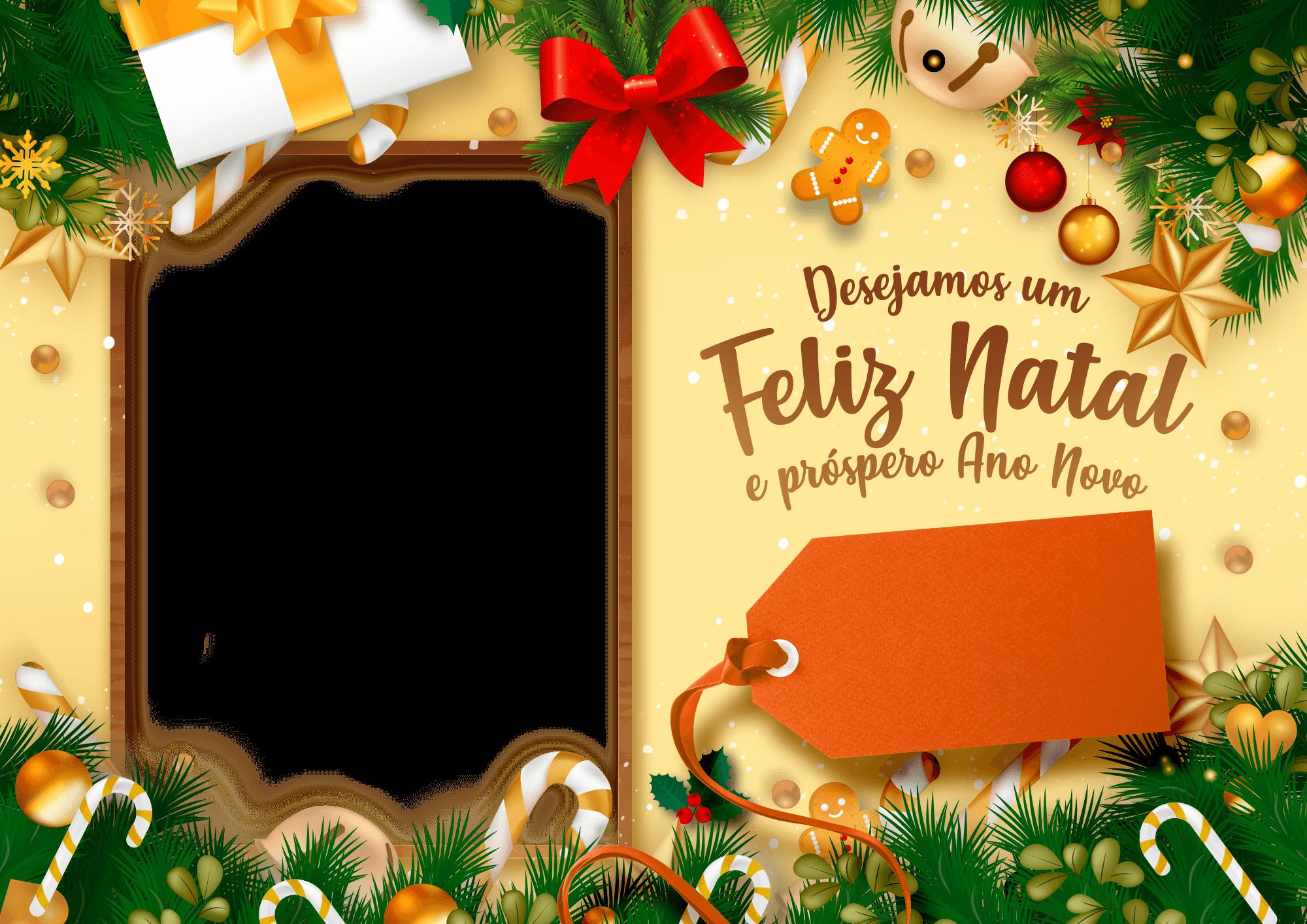 Cartao de Natal Personalizado com foto 1